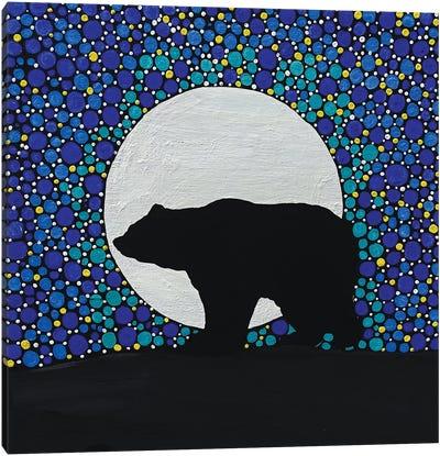 Moon Bear Canvas Art Print