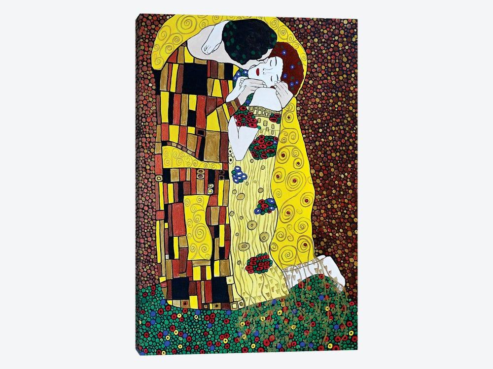 The Kiss by Rachel Olynuk 1-piece Canvas Art