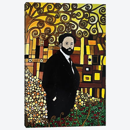Gustav Canvas Print #ROL74} by Rachel Olynuk Canvas Art Print