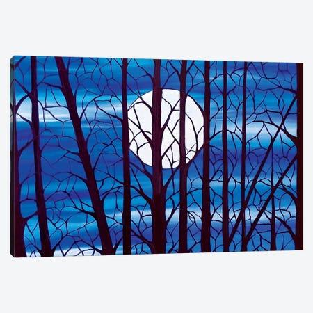 Moonlight Canvas Print #ROL85} by Rachel Olynuk Canvas Art