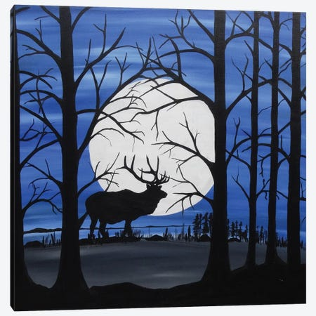 Cast A Shadow Canvas Print #ROL8} by Rachel Olynuk Canvas Artwork