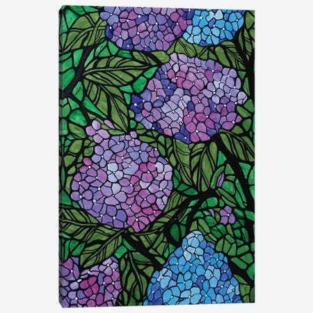 Hydrangeas Canvas Print #ROL90} by Rachel Olynuk Canvas Art
