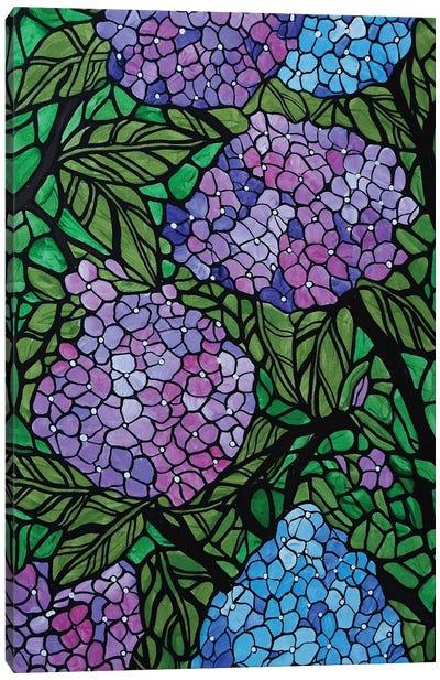 Hydrangeas Canvas Art Print