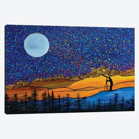 The Dreamer Canvas Print #ROL92} by Rachel Olynuk Canvas Art