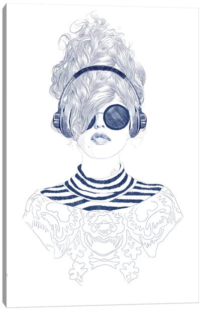 Groove Baby Canvas Art Print