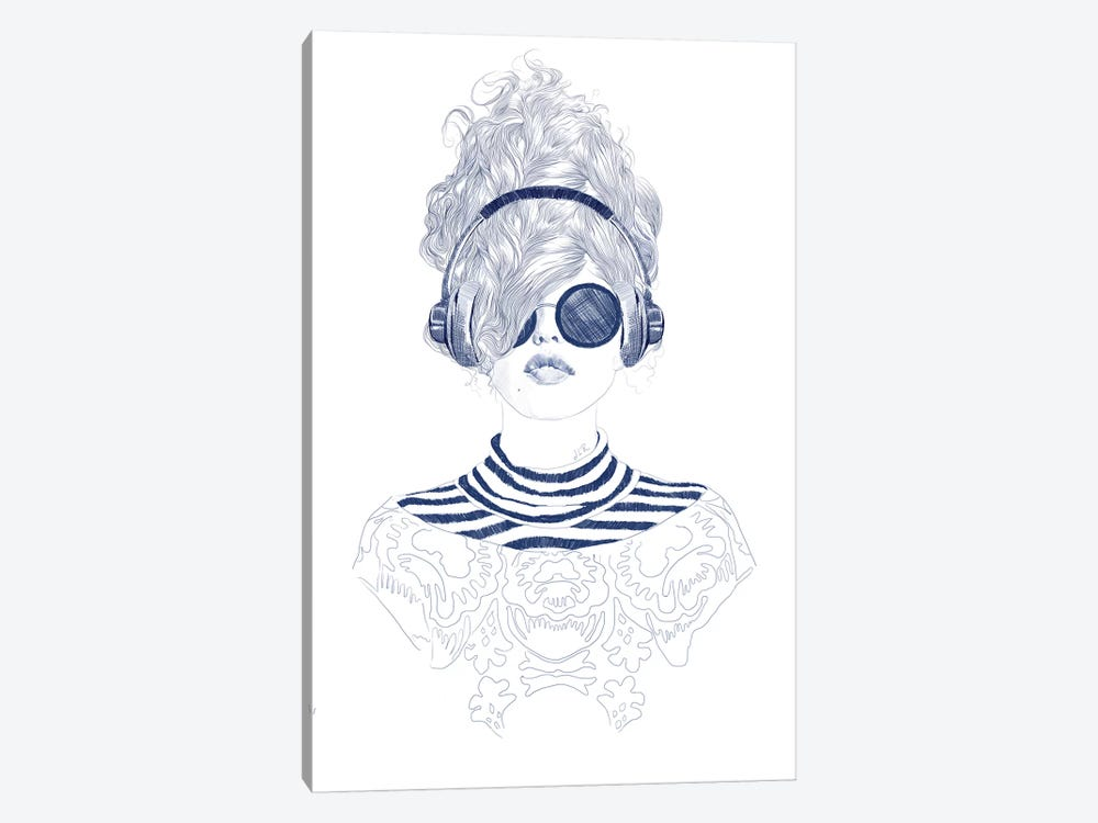 Groove Baby by Jenny Rome 1-piece Art Print