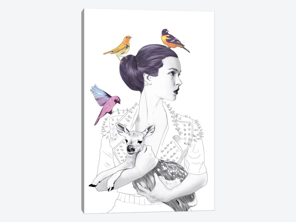 Princess Pike by Jenny Rome 1-piece Art Print
