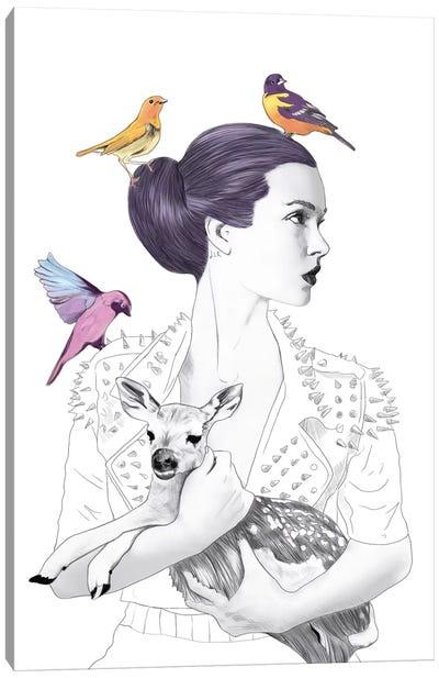 Princess Pike Canvas Art Print
