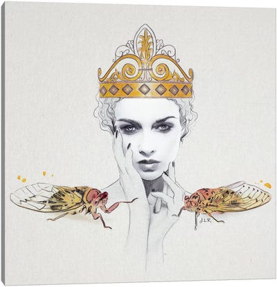 Queen #1 Canvas Art Print