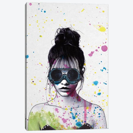 Splat Canvas Print #ROM26} by Jenny Rome Canvas Art Print