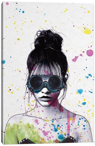 Splat Canvas Art Print