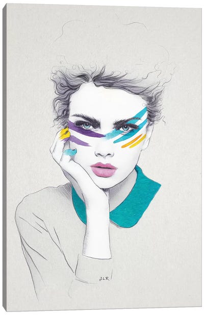 Warpaint Sally Canvas Art Print