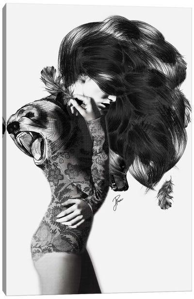 Bear #2 Canvas Art Print
