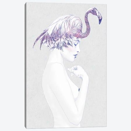 Dahlia II Canvas Print #ROM32} by Jenny Rome Canvas Art Print