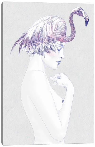 Dahlia II Canvas Art Print