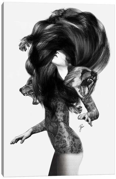 Bear #3 Canvas Art Print