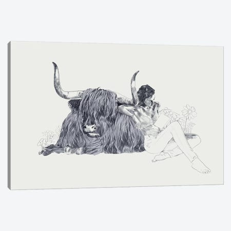 Taurus Canvas Print #ROM48} by Jenny Rome Canvas Artwork