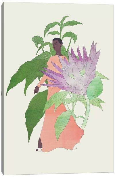 In The Garden Galaxy #2 Canvas Art Print
