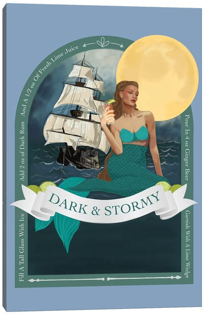 Dark And Stormy Canvas Art Print