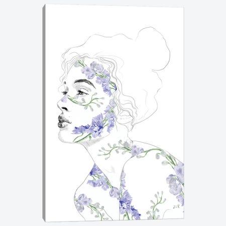 Botanical II Canvas Print #ROM7} by Jenny Rome Canvas Art