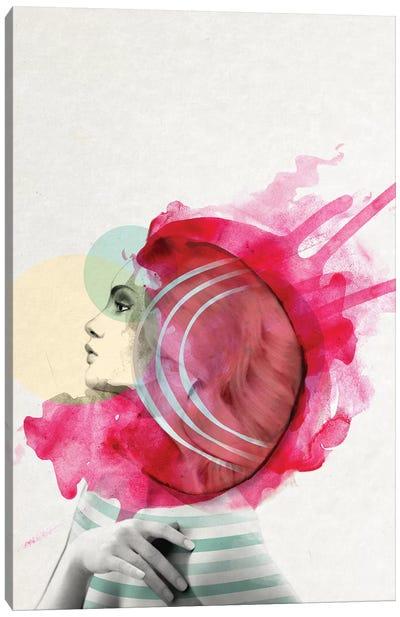 Bright Pink I Canvas Art Print