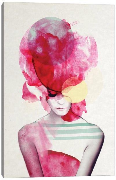 Bright Pink II Canvas Art Print