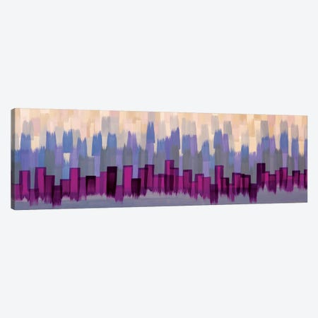 Fringe Shimmer 3-Piece Canvas #ROO54} by Rashelle Roos Canvas Artwork