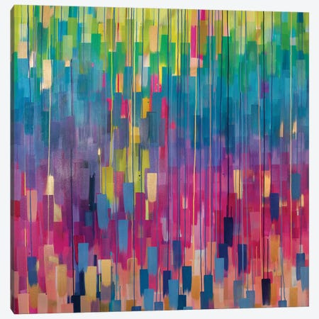 Burst Canvas Print #ROO5} by Rashelle Roos Canvas Artwork