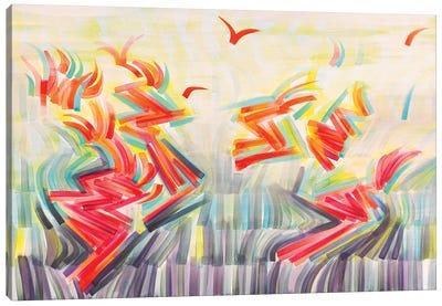 Flight Patterns Canvas Art Print