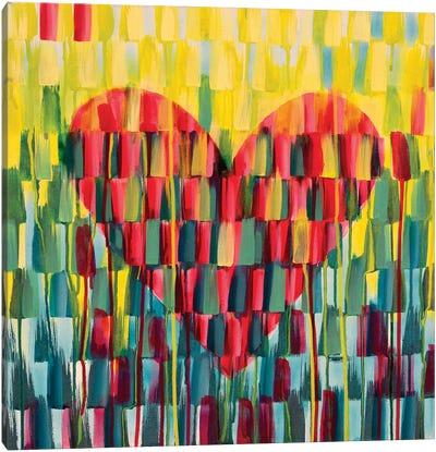 Little Love Heart Canvas Art Print