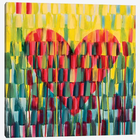 Little Love Heart Canvas Print #ROO63} by Rashelle Roos Canvas Art