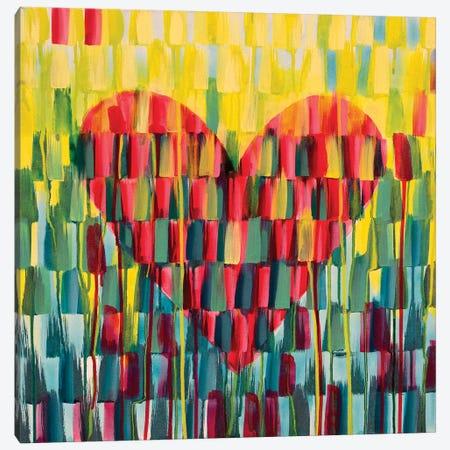Little Love Heart Canvas Print #ROO63} by Rashelle Roos Canvas Art