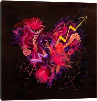 Wild Thing Heart Canvas Art Print