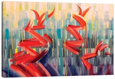 Winged Rhythms Canvas Art Print