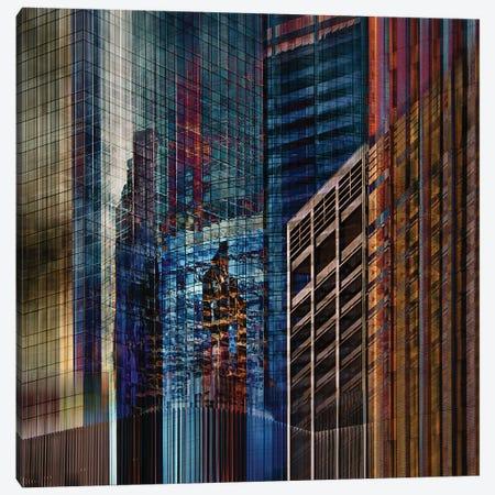 Urban Abstract Ii Canvas Print #ROX13} by Roxana Labagnara Canvas Artwork