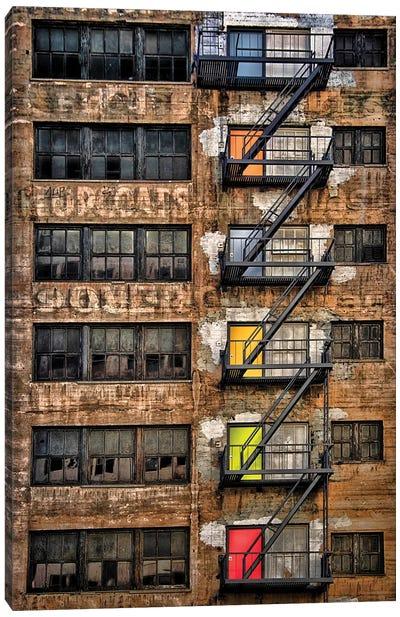 Downtown Los Angeles Canvas Art Print
