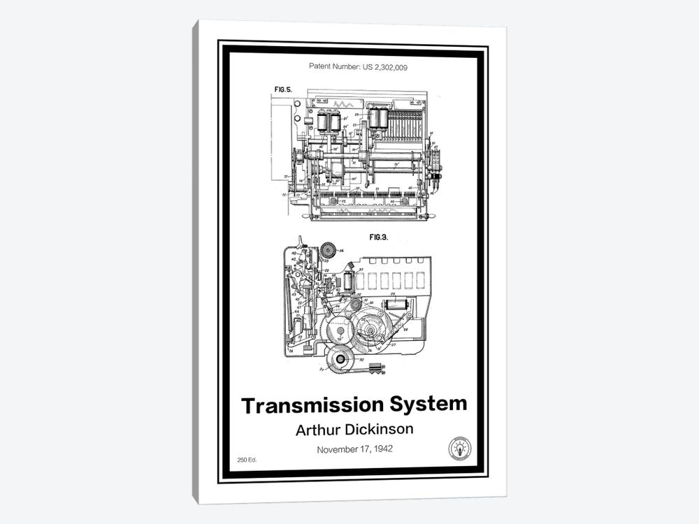 IBM by Retro Patents 1-piece Canvas Print