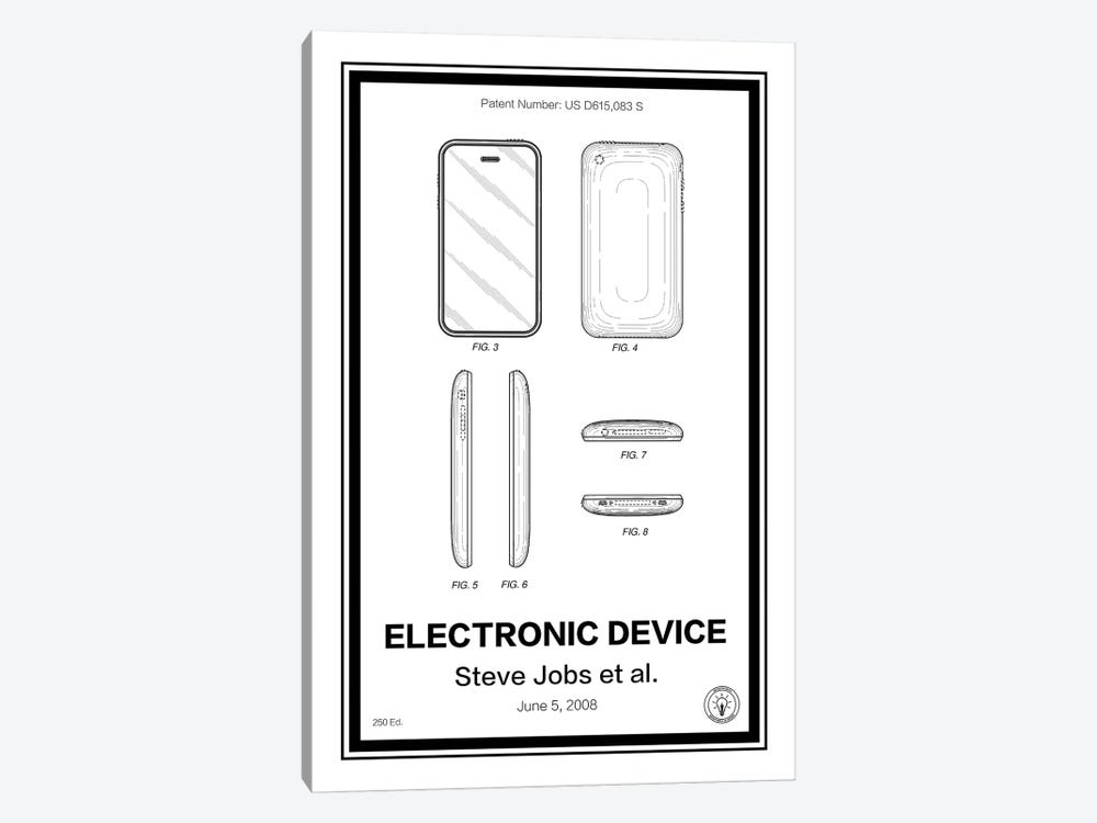 iPhone by Retro Patents 1-piece Canvas Art