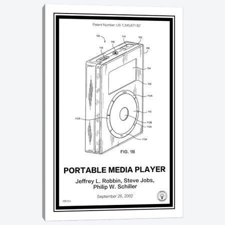 iPod Canvas Print #RPA18} by Retro Patents Canvas Wall Art
