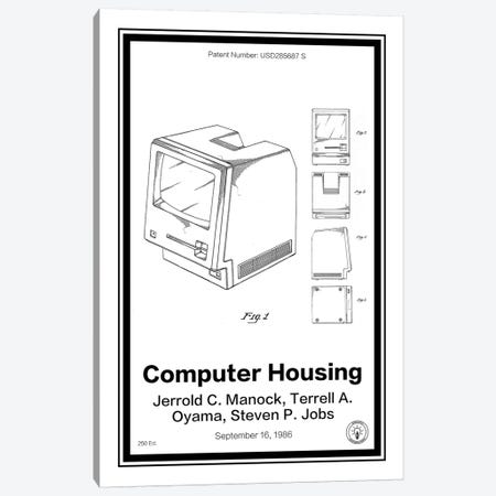 Mac Canvas Print #RPA19} by Retro Patents Canvas Artwork
