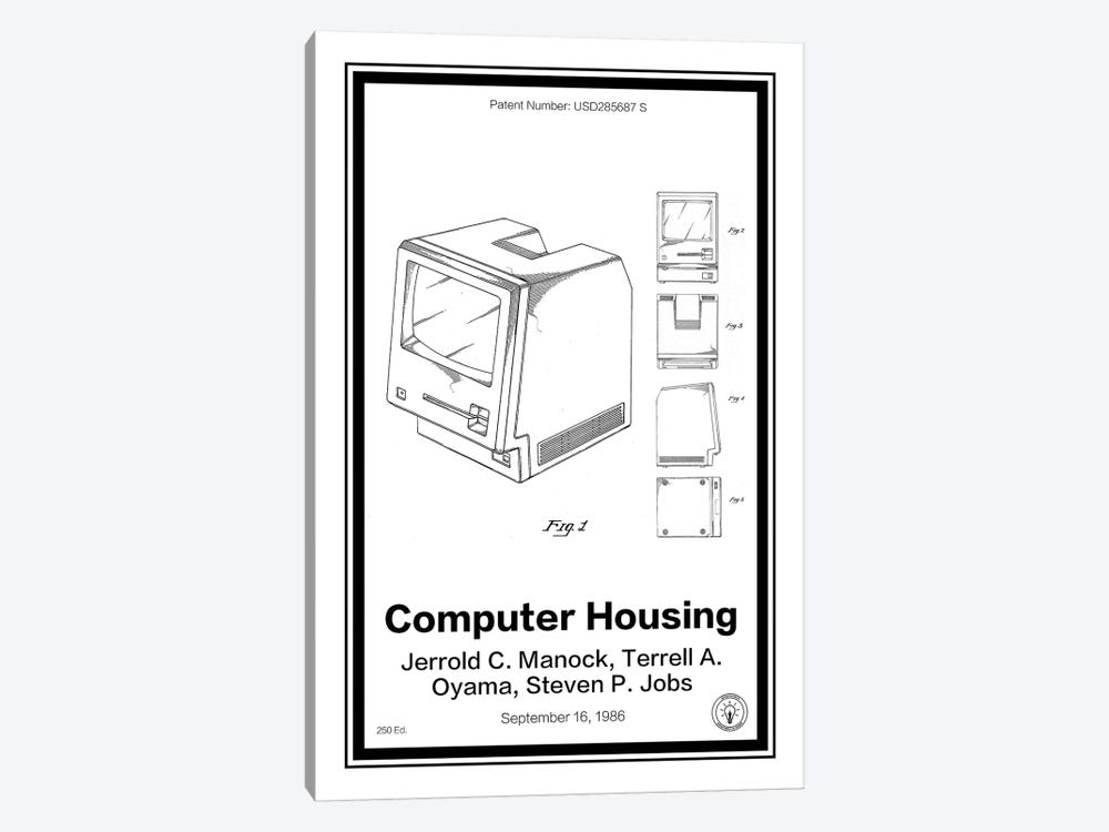 Mac by Retro Patents 1-piece Canvas Wall Art