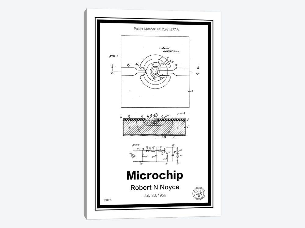 Microchip by Retro Patents 1-piece Canvas Art