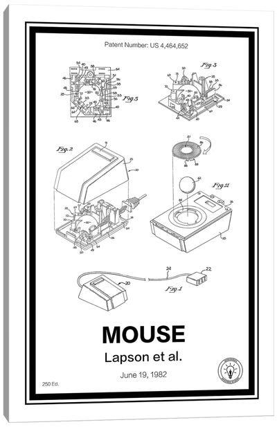 Mouse Canvas Art Print