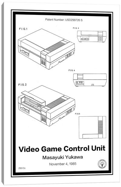 NES Canvas Art Print