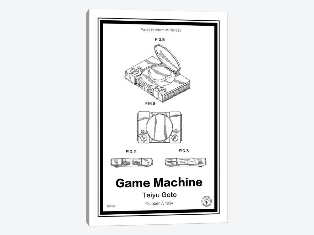 Playstation by Retro Patents 1-piece Art Print