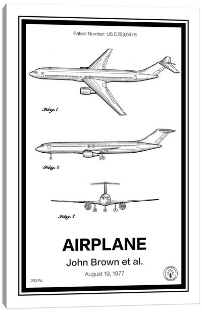 Airplane Canvas Art Print