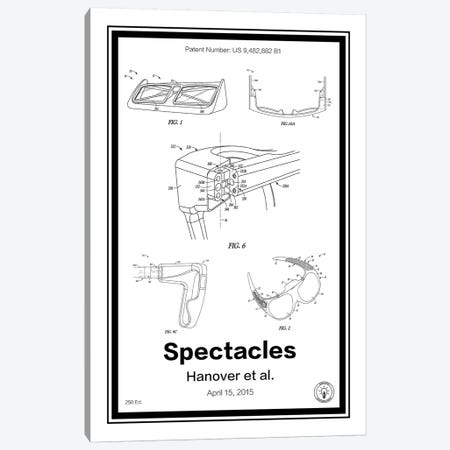 Snap Specatcles Canvas Print #RPA30} by Retro Patents Canvas Art