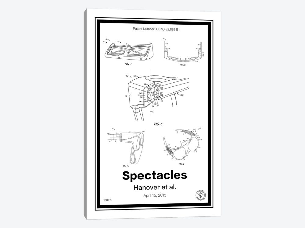 Snap Specatcles 1-piece Canvas Print