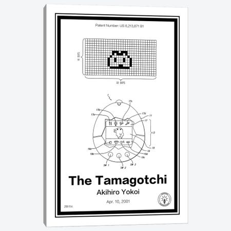 Tamagotchi Canvas Print #RPA35} by Retro Patents Canvas Art Print