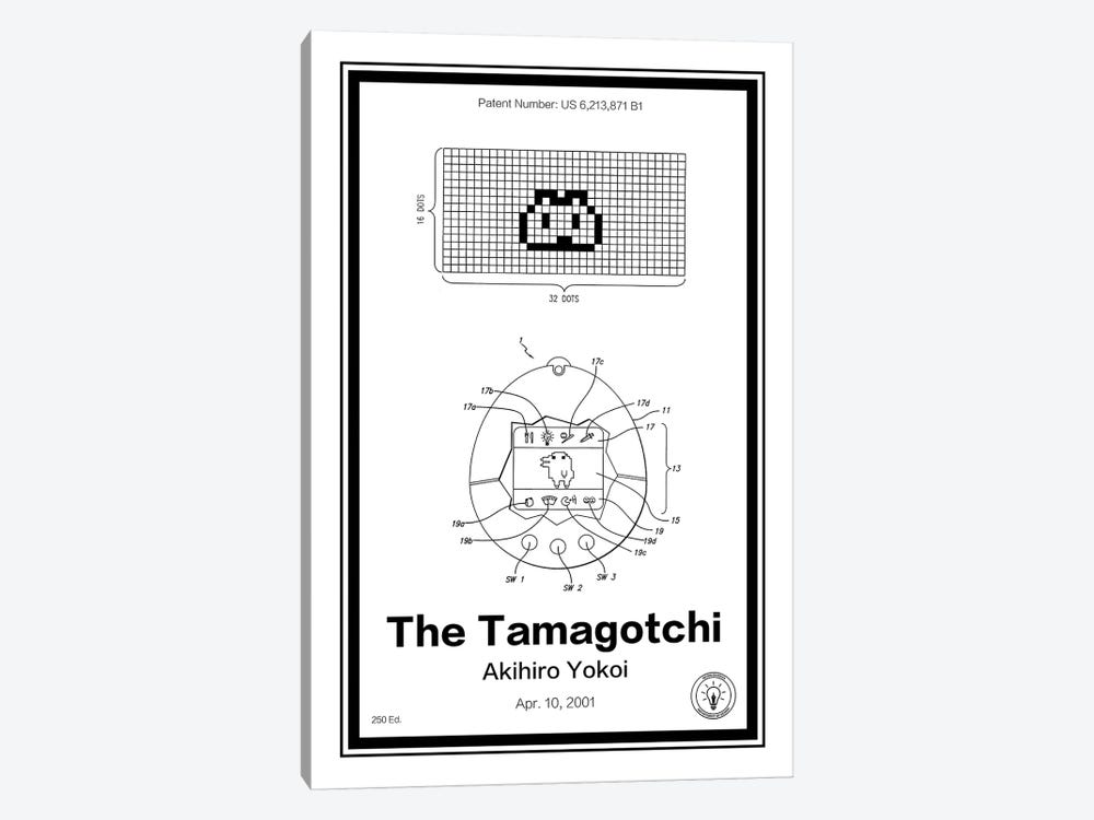 Tamagotchi by Retro Patents 1-piece Canvas Wall Art
